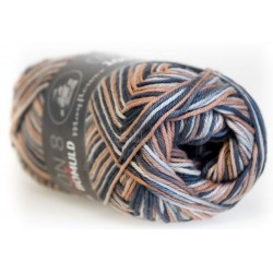 Mayflower Cotton 8/4 print farve 1507 bark