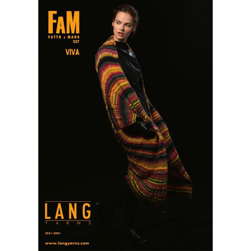 0fb0835ccd5 Lang yarns opskrift magasin 237. 16 strikkeopskrifter i VIVA garn