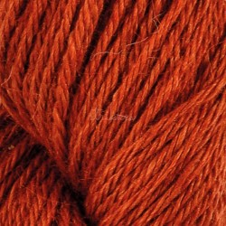 Järbo Llama silk, farve kobberbrun