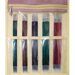 Royale strømpepinde sæt med 5 størrelser 2mm - 4 mm, 15 cm, KnitPro
