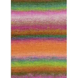 Lang Yarns Mille Colori Baby, farve 55