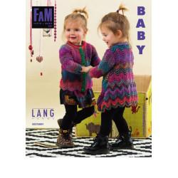 Lang yarns opskrift magasin 223. 25 strikkeopskrifter til babyer, ENGELSK