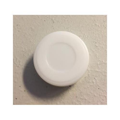 Rasleboks hvid, rund 11 x 27 mm