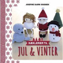 Hæklerier til jul & vinter, Josefine Bjørn Knudsen bog