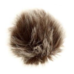 Pompon imiteret ulv, gråbrun 6 - 8 cm