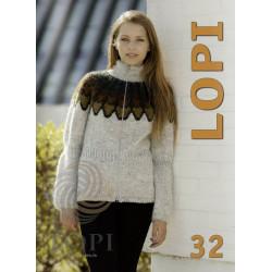 Istex, Lopi opskrift magasin 32, 25 opskrifter til damer, herre og børn, norsk