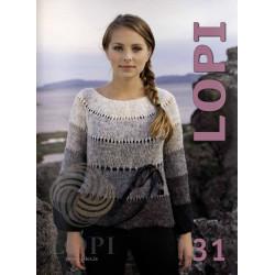 Istex, Lopi opskrift magasin 31, 27 opskrifter til damer, herre og børn, norsk