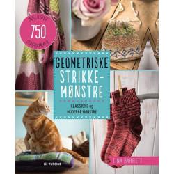 750 Geometriske strikkemønstre - Tina Barrett bog