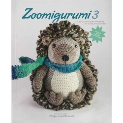 Zoomigurumi 3, 15 søde dyr - 13 - 30 cm, engelsk
