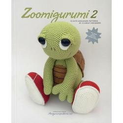 Zoomigurumi 2, 15 søde dyr - 11,5 - 38 cm, engelsk