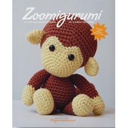 Zoomigurumi 1, 15 søde dyr - 8 - 21 cm, engelsk