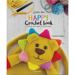 Happy crochet book, 12 søde baby/børneting , engelsk
