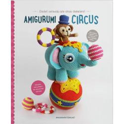 Amigurumi circus, 13 søde dyr, engelsk