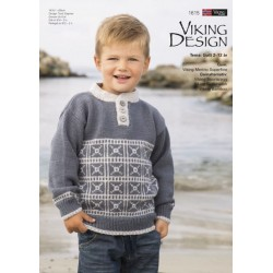 Image of   Viking katalog 1615 dreng 2-12 år, viking merino superfine viking