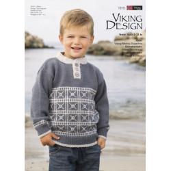 Viking katalog 1615 dreng 2-12 år, Viking Merino superfine