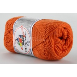 Mayflower Cotton 8 junior farve 1406 orange