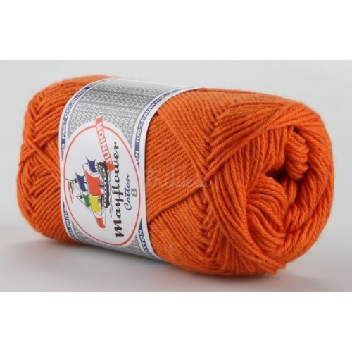 Mayflower Cotton 8 farve 1406 orange