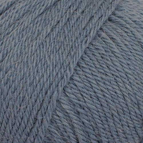 DROPS Puna UNI 14 jeans blå