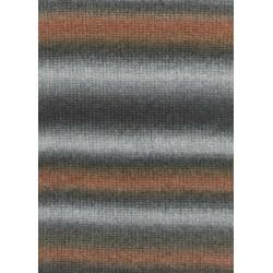 Lang Yarns Novena color, farve 68, grå og brune, 50g