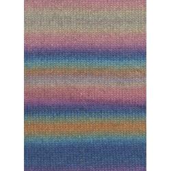 Lang Yarns Novena color, farve 09, morgenhimmel, 50g