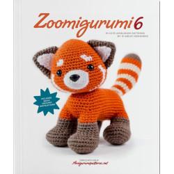 Zoomigurumi 6, 15 søde dyr - 13 -32 cm, engelsk