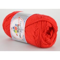Mayflower Cotton 8 junior farve 1411 rød