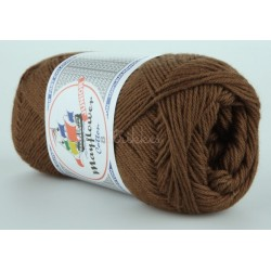 Mayflower Cotton 8 junior farve 1437 brun