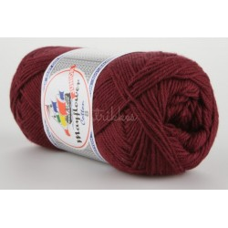 Mayflower Cotton 8 junior farve 1454 bordeaux
