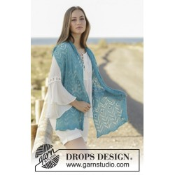 Sea Hug by DROPS Design Ca 37 x 200 cm DROPS LACE