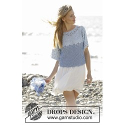Image of   Aegean by drops design s-xxxl drops belle garn bluse