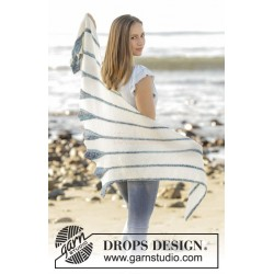 Blue Callas by DROPS Design ca 90cm DROPS FABEL