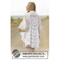 Image of   A flair for spring by drops design s-xxxl drops paris garn cardigan