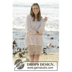 Sweet Maggie by DROPS Design S-XXXL DROPS BRUSHED ALPACA SILK