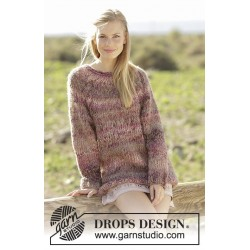 Misty Moor by DROPS Design S-XXXL DROPS DELIGHT/DROPS BRUSHED ALPACA SILK
