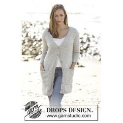 Image of   Evening promenade by drops design s-xxxl drops air garn cardigan