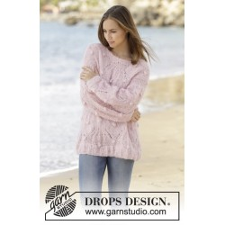 Candied Almonds by DROPS Design S-XXXL DROPS MELODY