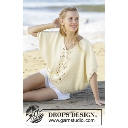 Image of   Beach day by drops design s-xxxl drops paris garn bluse