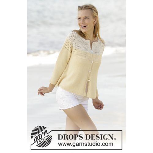 Vanilla Cream by DROPS Design S-XXXL DROPS ALPACA