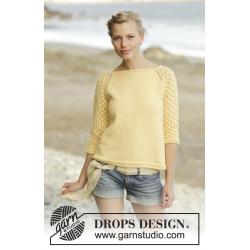 Honey Blossom by DROPS Design S-XXXL DROPS MERINO EXTRA FINE