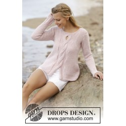 Rose Twist by DROPS Design S-XXXL DROPS ALPACA/DROPS KID-SILK