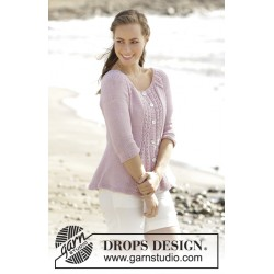 Image of   Roseanne by drops design s-xxxl drops paris garn strikkekits