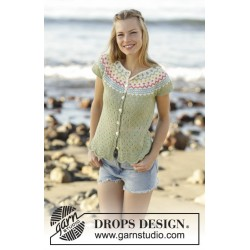 Spring Valley by DROPS Design S-XXXL DROPS FLORA