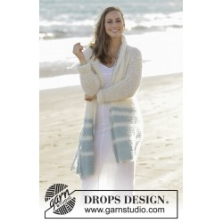 Image of   Driftwood by drops design s-xxxl drops melody garn cardigan