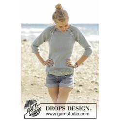 Wind Down by DROPS Design S-XXXL DROPS MERINO EXTRA FINE
