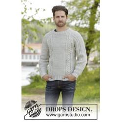 The rower by drops design s-xxxl drops karisma garn bluse