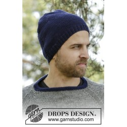 Keystone hat by drops design s-xl drops big merino garn