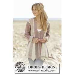 Image of   Rays of spring by drops design s-xxxl drops fabel garn strikkekits