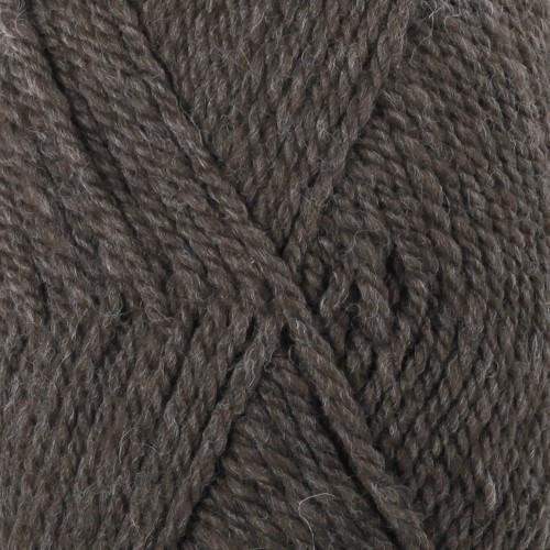 Drops Alaska UNI farve 50 mørkebrun meleret