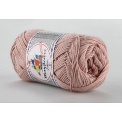 Mayflower Cotton 8 junior farve 1489 gammelrosa