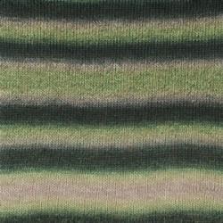 Drops Delight print 08 grøn/beige